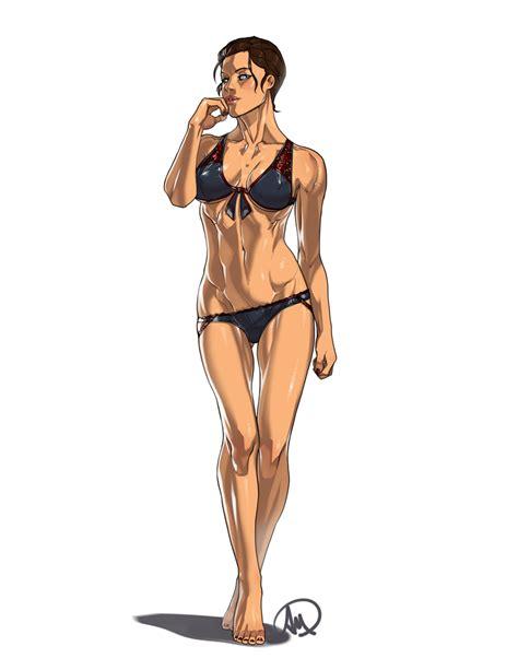 Ac Syndicate Evie Frye Bikini Ver By Ganassa On Deviantart