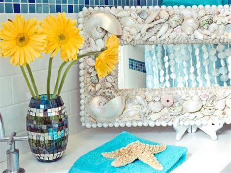 seashell bathroom decor ideas pictures tips  hgtv