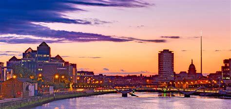 Dublin Skyline At Dusk / Dublin Photograph by Barry O Carroll