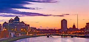 Dublin Skyline At Dusk / Dublin Photograph by Barry O Carroll