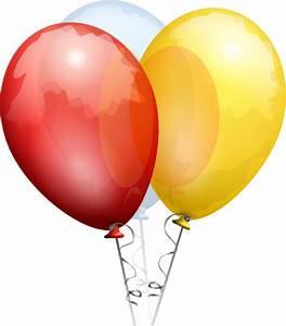 Birthday Balloons Clip Art at Clker.com - vector clip art ...