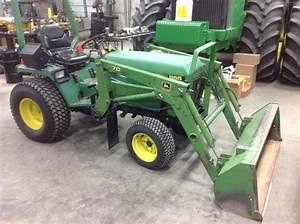1988 John Deere 855 Tractors - Utility  40-100hp