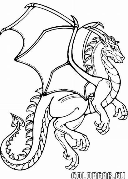 Dragon Coloring Para Colorear Pages Google Cartoon