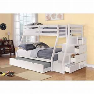 Lit Superposé Escalier : lits superpos s avec escalier chambres enfants ~ Premium-room.com Idées de Décoration