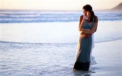 Wallpapers Romantic Couple Beach Couples Romance Intimate