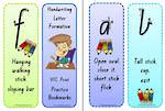 year  handwriting letter number formation vic pre