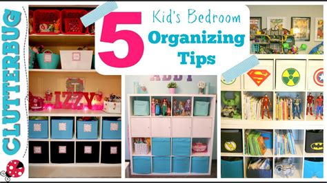 How To Organize A Kid's Bedroom  My 5 Best Ideas & Tips