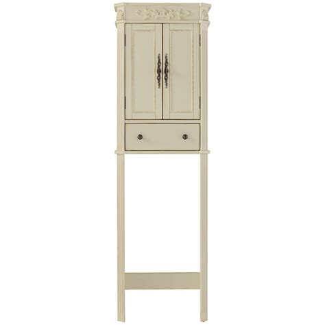 above toilet cabinet storage home decorators collection chelsea 22 in w x 72 in h x