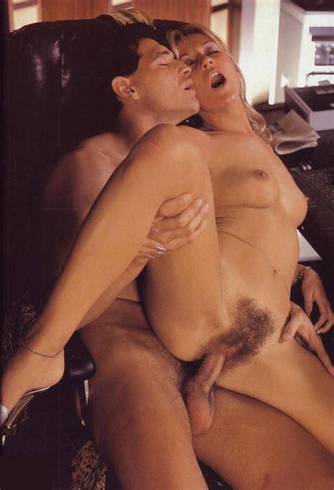 Retro Blonde Climaxes During Sex