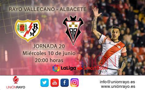 Rayo Vallecano vs Albacete: