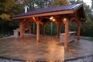 Log Timber Frame Pavilion