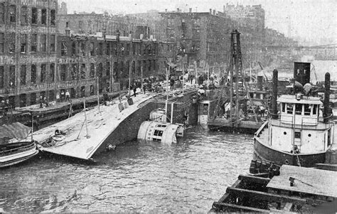 Tow Boat Sinks On Ohio River by Eastland Disaster