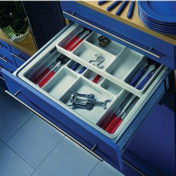 kitchen cabinet storage inserts hafele two tier cutlery or cosmetics tray drawer inserts 5813