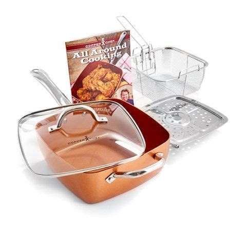 tv red copper sq set  bronze copper cooking pan cookware set red copper pan