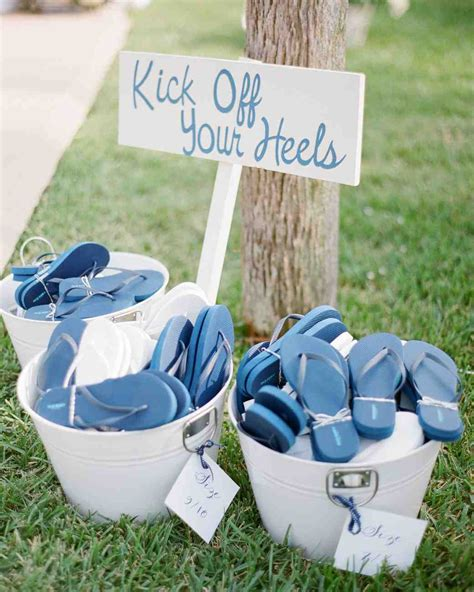 summer wedding favors to keep guests comfortable martha