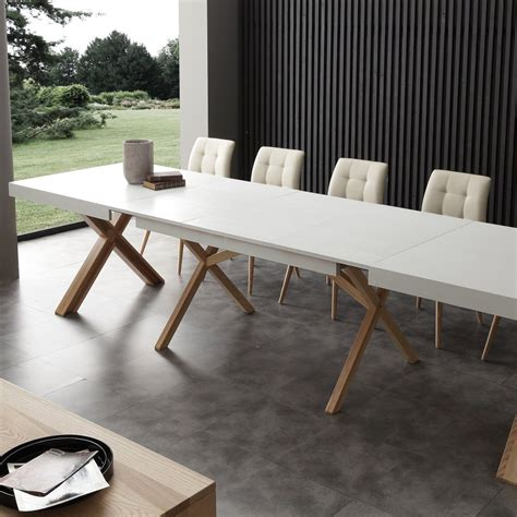 tavoli da pranzo moderni tavolo da pranzo allungabile 360 cm in massello drammen