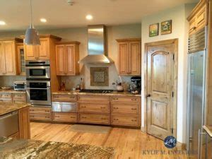 Sherwin williams rgb / hex. Wood cabinets in kitchen with granite. Warm toned glazed. Sherwin Williams ACcessible Beige ...