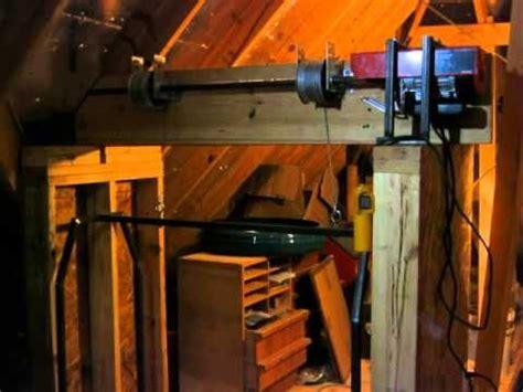 home  garage attic lift hoist elevator dumb waiter
