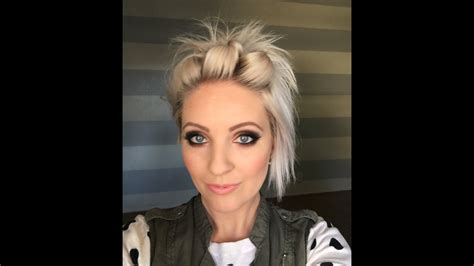 easy short hair tutorial youtube