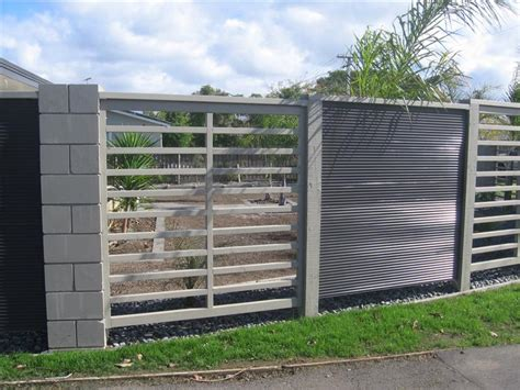 modern metal fencing latest trends modern fences marketing visible