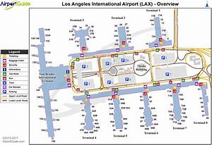 Lax International Terminal Map