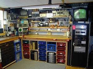 Aménagement Atelier Garage : electronic lab shop electronic lab pinterest amenagement garage atelier y amenagement atelier ~ Melissatoandfro.com Idées de Décoration