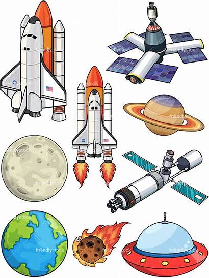 Space Cartoon Clipart Vector Outer Pdf Friendlystock