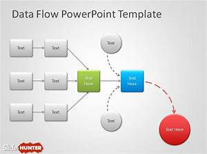 Free Data Flow Powerpoint Template