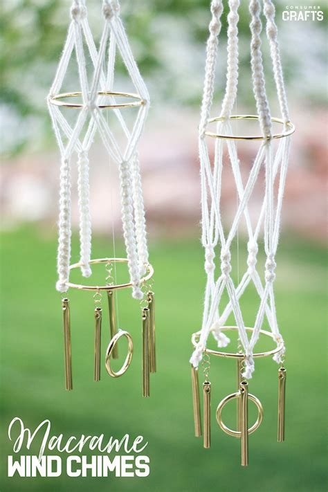 macrame tutorial mini macrame wind chimes consumer crafts