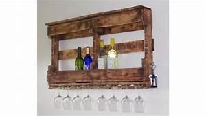 Meuble De Cuisine En Palette : meuble en palette bar ~ Dode.kayakingforconservation.com Idées de Décoration