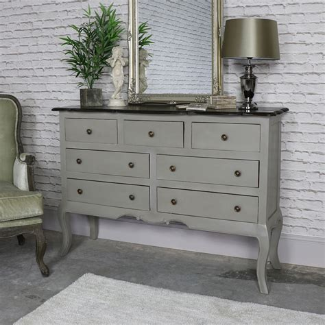 grey chest of drawers large vintage grey chest of drawers leadbury range