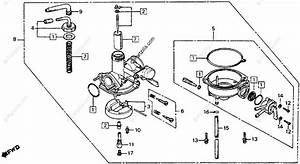 Honda Motorcycle 1978 Oem Parts Diagram For Carburetor