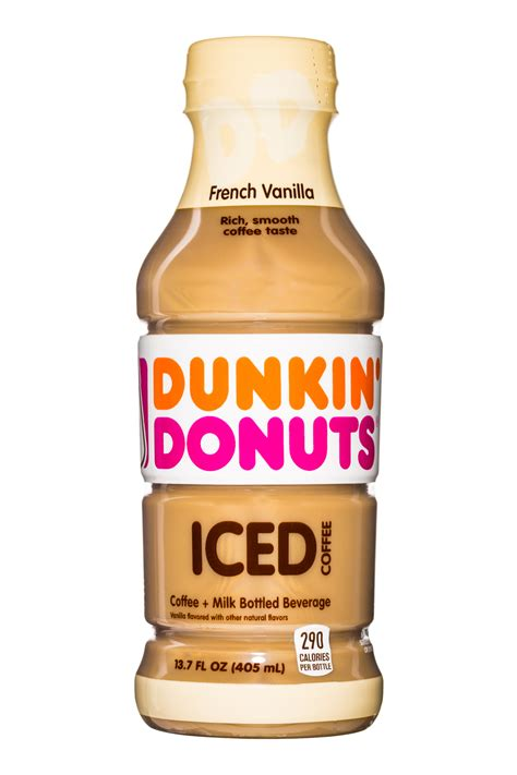 Our iced coffee now is available in retail chains nationwide! French Vanilla | Dunkin Donuts Iced Coffee | BevNET.com ...