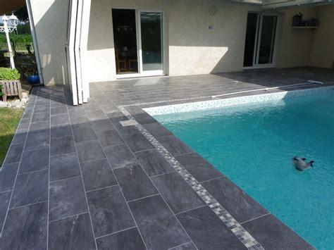 terrasse piscine gres cerame carrelage moins cher du carrelage de grande taille pas cher
