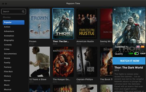 Resume Popcorn Time by Popcorn Time L Appli Pour Streamer En P2p Facilement
