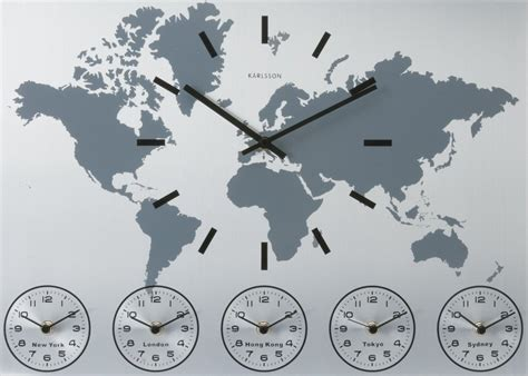 World Clock by Karlsson