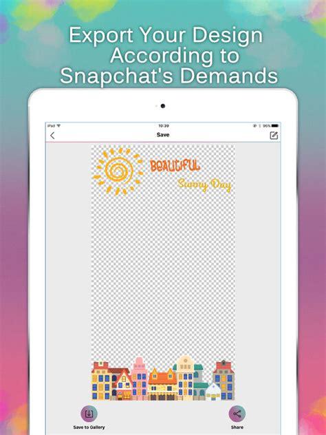 free geofilter app shopper geofilter maker for snapchat geo filter designer entertainment