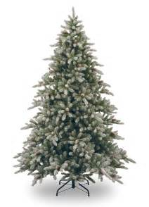 9ft snowy concolor fir artificial christmas tree hayes garden world