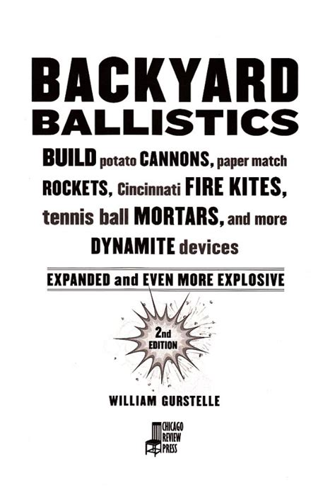 Backyard Ballistics by Backyard Ballistics Best Books For Ages 9 To 12