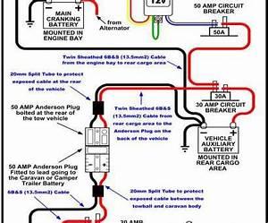 50 Amp Plug Wiring Diagram Schematic