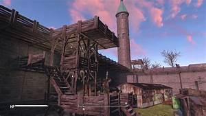 Fallout 4 - Huge Castle build at Sunshine Tidings Co-op ...