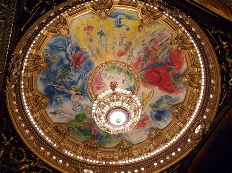 op 233 ra garnier plafond de chagall photo de