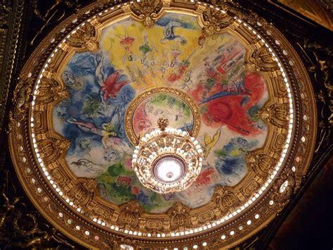 op 233 ra garnier plafond de chagall photo de incontournables d 233 couvrir autrement