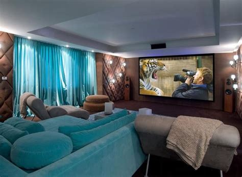 Brown And Aqua Living Room Ideas by Common Compromises In Home Theater Design Ideas And