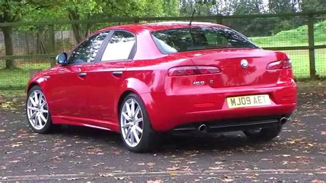 Alfa Romeo 159 24 Jtdm Ti 4dr Heated Seats 210 Bhp Youtube