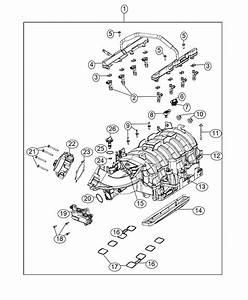 Ram 2500 Throttle Body  Engine  Hemi  Mds