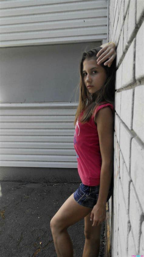 Young Jail Bait Brunette Teen