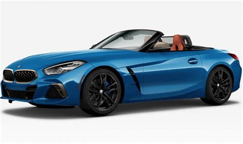 2020 Bmw Z4 Gets M40i With 382hp Through Online
