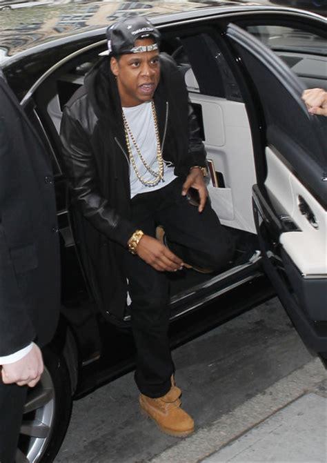 Kanye And Jay-z: Maybach Meetup