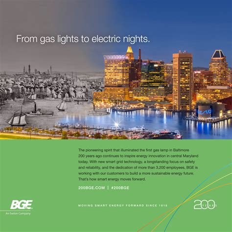 anniversary baltimore gas  electric company